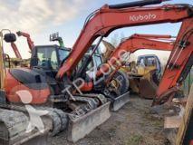 Excavadora excavadora de cadenas Kubota kx080-4 climatisation