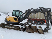 Excavadora Mecalac 10 MCR excavadora de cadenas usada