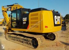 Excavadora Caterpillar 323F L excavadora de cadenas usada