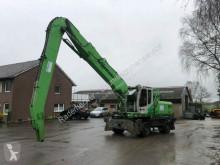 Excavadora Sennebogen 825 Green line excavadora de ruedas usada