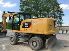 Caterpillar 320 F Oilquick Oil quick Rototilt Steuerung pelle sur pneus occasion