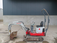 Takeuchi TB108 mini-excavator second-hand