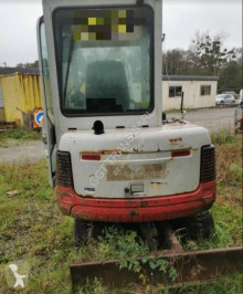 Takeuchi TB 125 used mini excavator
