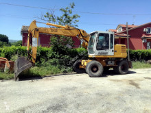 Liebherr A312 used wheel excavator