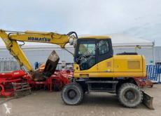 Excavadora excavadora de ruedas Komatsu PW160 ES-7K