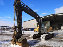 Excavadora Volvo EC 160 CL excavadora de cadenas usada