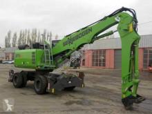 Sennebogen 817E / K8 ULM / nur 246h! / Schnellwechsler / 8m escavadora de rodas usada