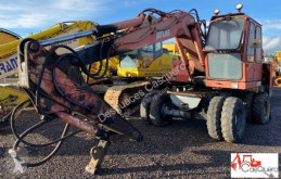 Atlas 1404 excavator pe roti second-hand