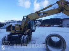 Caterpillar M313C used wheel excavator