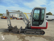 Takeuchi TB 125 mini-excavator second-hand