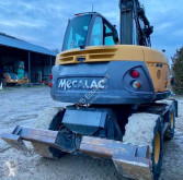 Mecalac 714 MW used wheel excavator
