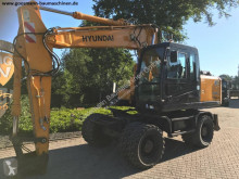 Excavadora Hyundai Robex 170 W-7A excavadora de ruedas usada