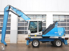 Escavadora de grifa manutenção Fuchs MHL320 D