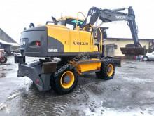 Excavadora Volvo EW160 C excavadora de ruedas usada