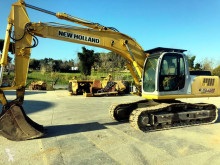New Holland E 245 used track excavator