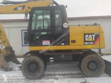 Caterpillar M313D used wheel excavator