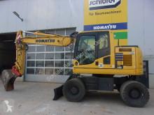 Komatsu PW148-10 used wheel excavator