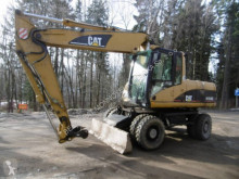 Caterpillar M318C used wheel excavator