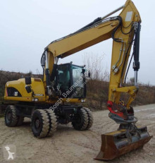 Caterpillar M318D used wheel excavator