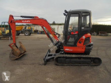 Kubota U35-3a3 used mini excavator