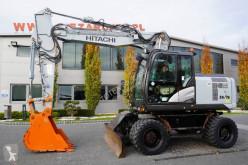 Excavadora Hitachi ZX170W-3 excavadora de ruedas usada
