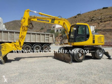 Komatsu PW150ES-6K used wheel excavator