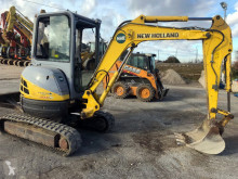 New Holland E 30.2 SR used mini excavator