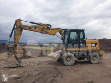 Caterpillar M313 M 313 D used wheel excavator