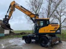 Excavadora Hyundai HW 140 excavadora de ruedas usada
