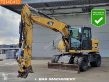 Caterpillar M313 used wheel excavator