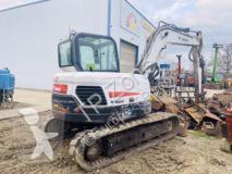 Escavadora escavadora de lagartas Bobcat E 80