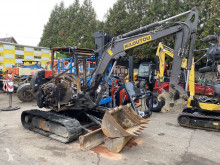 Volvo ECR50 miniexcavadora accidentada