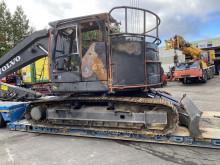 Volvo EC235EL damaged track excavator