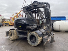Mecalac 15 MWR damaged wheel excavator