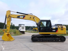 Caterpillar 323D used track excavator