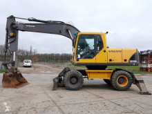 Volvo EW180 B used wheel excavator