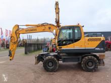 Excavadora Hyundai Robex 140 W-9 A excavadora de ruedas usada