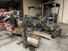 Mini pelle Volvo 2x ECR18E - 645h + 745h - ALL HYDRAULIC LINES - INCL 3 BUCKETS - TOP CONDITION - LIKE NEW