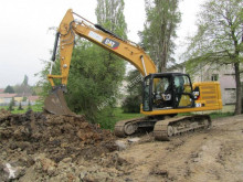 Caterpillar 323 used track excavator