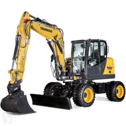 Yanmar Mobiele graafmachine B95W bij Eemsned escavatore gommato nuovo