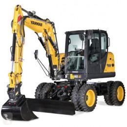 Excavadora Yanmar Mobiele graafmachine B75W bij Eemsned excavadora de ruedas nueva
