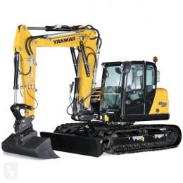 Yanmar Midigraver SV120 bij Eemsned new track excavator
