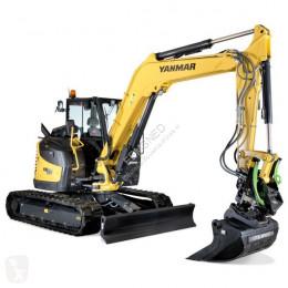Yanmar VIO80-A Binnendraaier bij Eemsned new track excavator