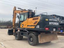 Excavadora excavadora de ruedas Hyundai HW 210