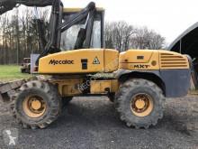 Excavadora Mecalac 12 MTX excavadora de ruedas usada