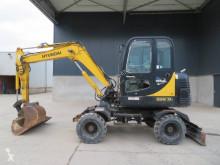 Excavadora Hyundai Robex 55 W-7 A excavadora de ruedas usada