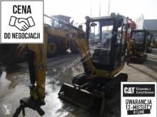 Excavadora Caterpillar 301.7D excavadora de cadenas usada