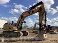 Excavadora excavadora de cadenas Caterpillar 336F L /w Demolition Equipment & Flatbed Trailer