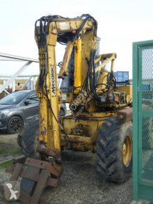 Mecalac 11 CX 1986 used wheel excavator