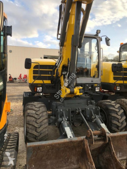Wacker Neuson EW 100 used wheel excavator